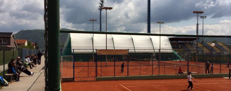 OP Zaprešić teniski turnir za djecu do 8 i 9 godina