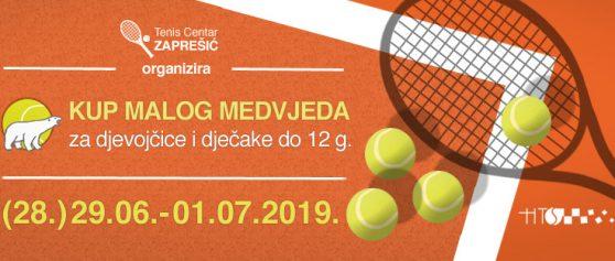 """Teniski turnir """"Kup Malog Medvjeda"""" – 12 g."""